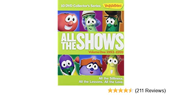 Amazoncom Veggietales All The Shows Vol 1 1993 1999