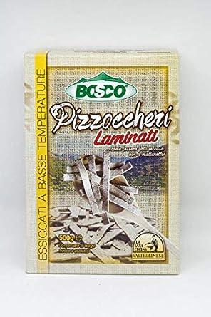 Bosco - Pizzoccheri Sana Cocina en caja - Cartón de 14 paquetes de ...