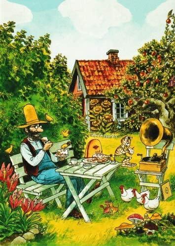 Postkarten-Komplett-SetPettersson und Findus
