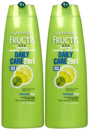 Conditioner Shampoo Moisturizing (Garnier Fructis Daily Care 2-in-1 Shampoo & Conditioner - 13 oz - 2 pk)