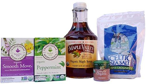 Maple Valley Organic Master Cleanse Lemonade Detox Kit (NO Book) For Sale