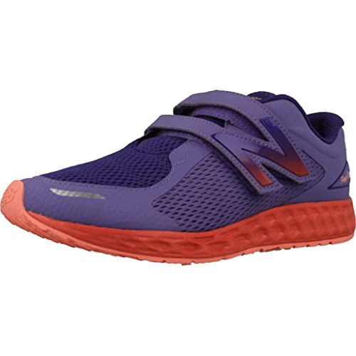 Zapatillas para niña, Color Morado, Marca NEW BALANCE, Modelo Zapatillas para Niña NEW BALANCE KVZNT DGG Morado: Amazon.es: Zapatos y complementos