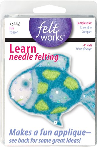 Dimensions Needlecrafts Feltworks Fish Felt ()