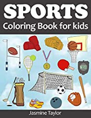 This coloring book is for kids of any age who love all kinds of sports including baseball, basketball, football, soccer, hockey, golf, bowling, boxing, ping-pong, tennis, skiing and more.       These detailed ready-to-color illustratio...
