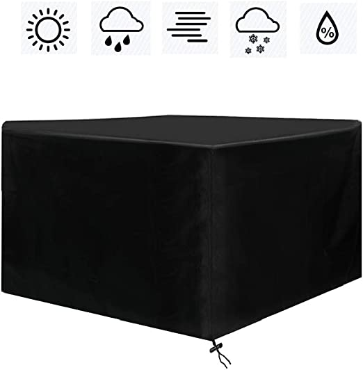 6 Waterproof Furniture cover Dust Heavy Duty for Rattan Cube Outdoor Garden UK