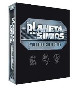 Pack - Saga Del Planeta De Los Simios [Blu-ray]