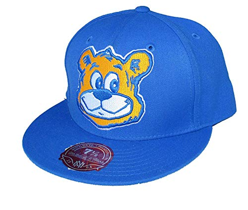 Mitchell & Ness UCLA Bruins TQ75 NCAA XL Logo Fitted Hat Cap (7 1/4)