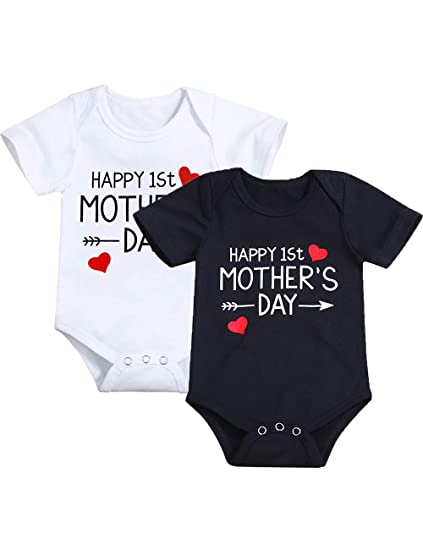 Matching Tops Infant Baby Girls Kids T-shirt Romper Bodysuit Clothes Outfits Consumers First Mother & Kids