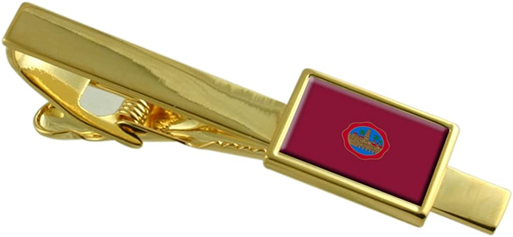 Select Gifts Cordoba Ciudad Bandera España Clip de Corbata de Oro ...