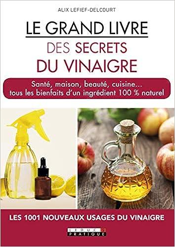 Le Grand Livre Des Secrets Du Vinaigre 9791028513412