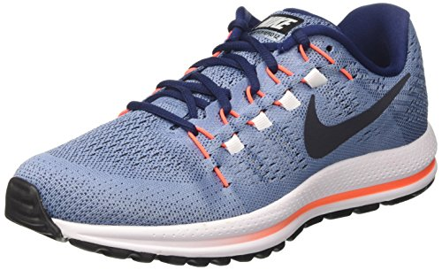Nike Air Zoom Vomero 12, Zapatos para Correr para Hombre Azul (Work Blue/dark Obsidian/binary Blue)
