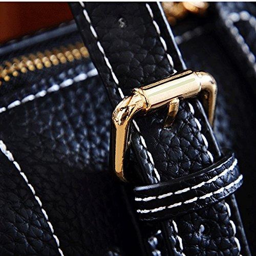 Great Felpa Plush St Moda De Bolsa Messenger Great De Colgante Hanging Negro Bolsos Leather Bag Soft De color Dgf Negro Suave De St De Bolso Black Handbags Black Mujer color Bolso Mensajero Bag Dgf Cuero Bag Fashion xfwHq5w7
