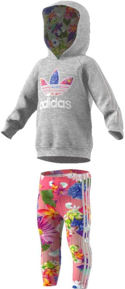 adidas I Grphc HD Set Chándal, Unisex bebé, Gris (brgrin), 62 (0/3 ...