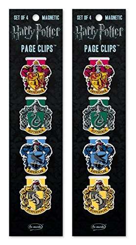 Re-marks Harry Potter Crests Magnetic Page Clips (2 Pack)