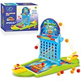Board Game Ball Shooting Game, 2018 Ball Shooting Travel Game for Kids Adults Party Family Game, Great Idea for Kids 3 Years and Up