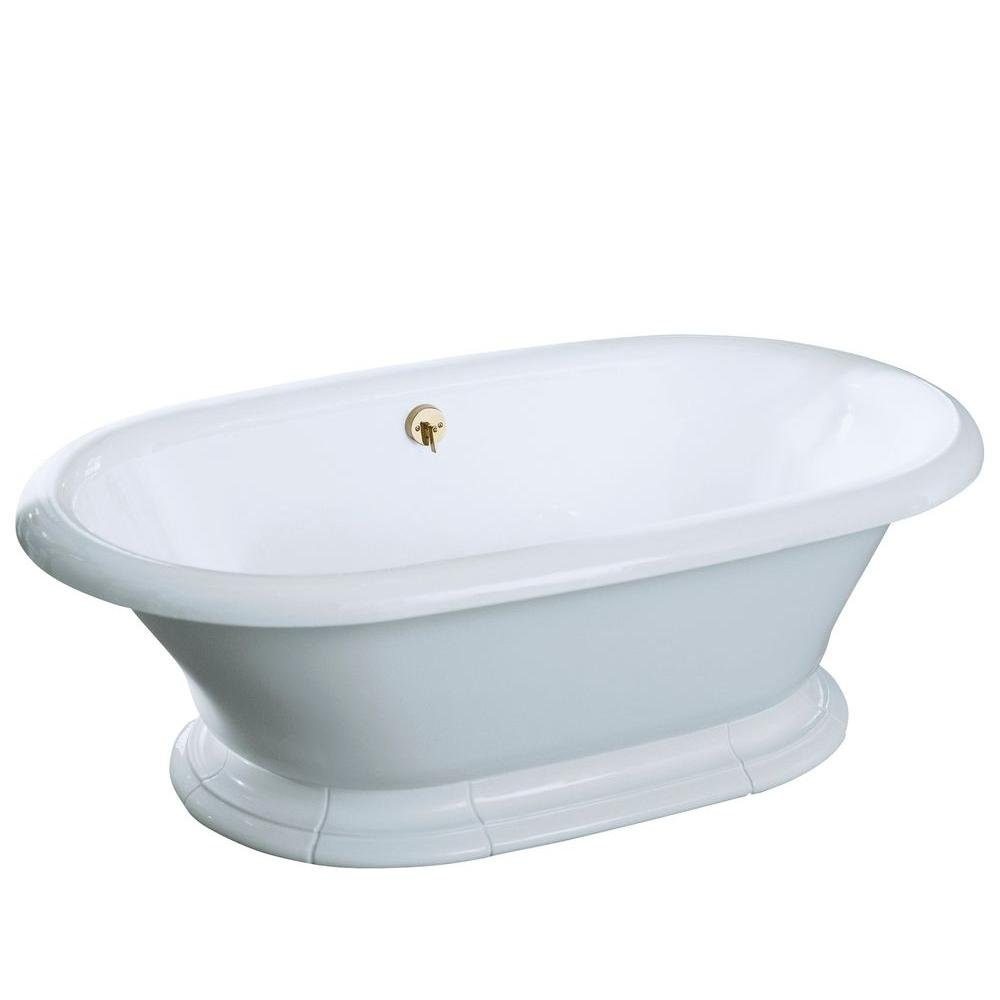 KOHLER K-700-0 Vintage Bath, White - Freestanding Bathtubs - Amazon.com