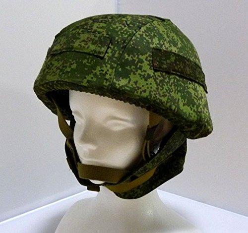 6B28ヘルメット レプリカ 空挺仕様デジタルフローラ迷彩カバー付属 ロシア軍 空挺VDV ゲームで使える「日本語発音で対応する現代軍事ロシア語集」付き B00LP7Y8Q4