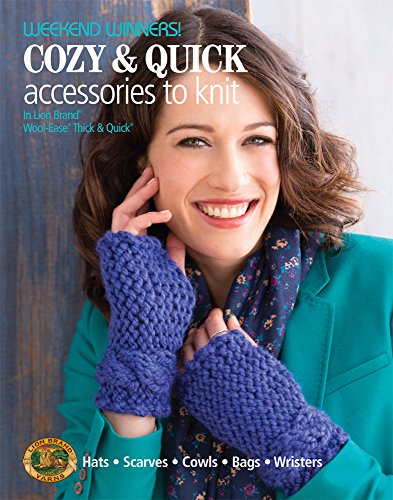 Weekend Winners! Cozy & Quick Accessories to Knit in Lion Brand Wool-Ease Thick & Quick