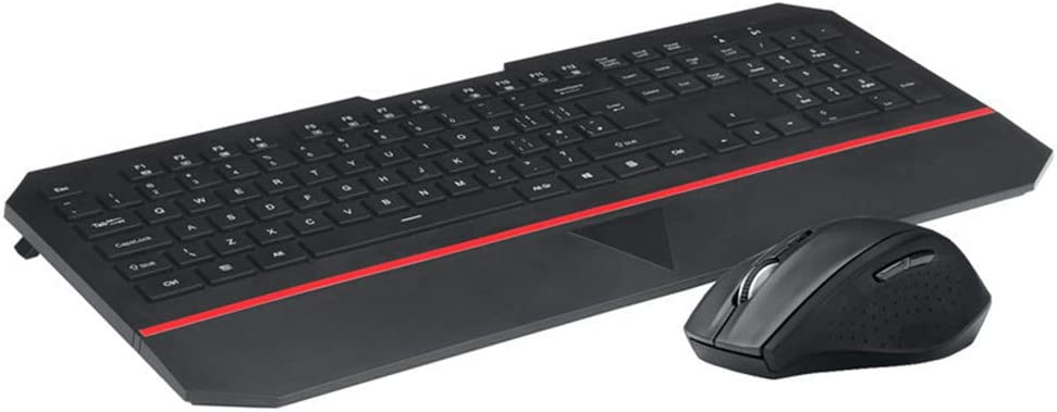 Ultra-Thin Office Keyboard Adjustable Mouse Combination Wireless Keyboard and Mouse Combination 2.4G USB Plug-and-Play Multimedia Shortcut Key