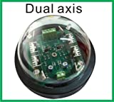 ~DUAL AXIS~ Sun Solar Tracker Controller for Solar Panel System with LED Sensor ONE Battery Changable Wire Version