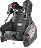 SEAC Ego Scuba Diving BCD (Black/Red, XX-Small)