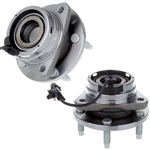 SCITOO Compatible with 2 New Front Wheel Hub Bearing Assembly Chevy Cobalt HHR SS Malibu G6 Saturn Aura 513214 X 2