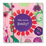 Personalized Custom Name Book Perfect for Babies and Baby Showers Newborns (Pink Cover) Valentine's Day Gift for Girls