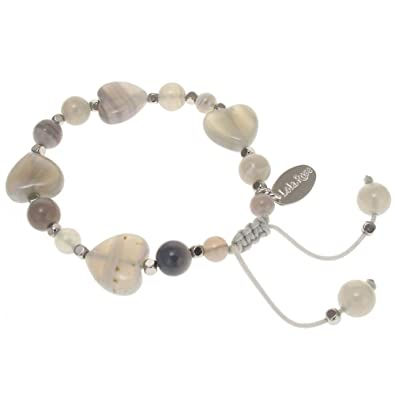 Lola Rose Iola Bracelet Ice Blue Quartzite