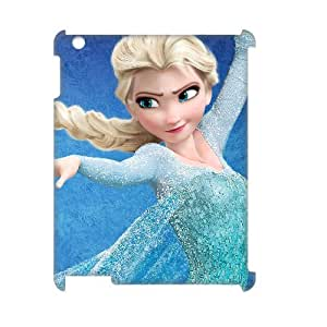 J-LV-F Frozen Pattern 3D Case for iPad 2,3,4