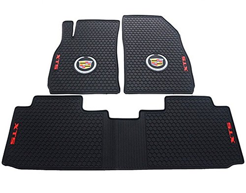 Liners Custom Fit Heavy Duty Full Set Floor Mat for Select Cadillac XTS Models (Black)