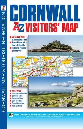 - Cornwall Visitors Map (A-Z Visitors Map)