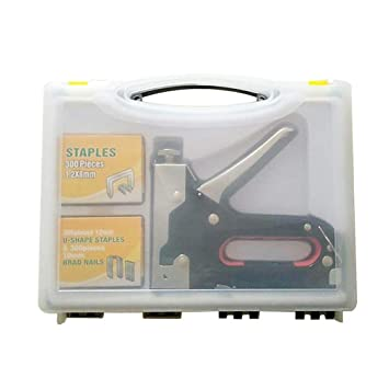 Upholstery Staple Gun Nail Gun 3 In 1 Heavy Duty Staple Brad Nail