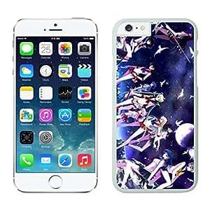 NEW DIY Unique Designed Case For iphone 6 plus Sailor Moon iphone 6 plus White 5.5 TPU inch Phone Case 385