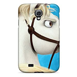 Premium DkPUtZi4735cowAH Case With Scratch-resistant/ Horse From Tangles Case Cover For Galaxy S4