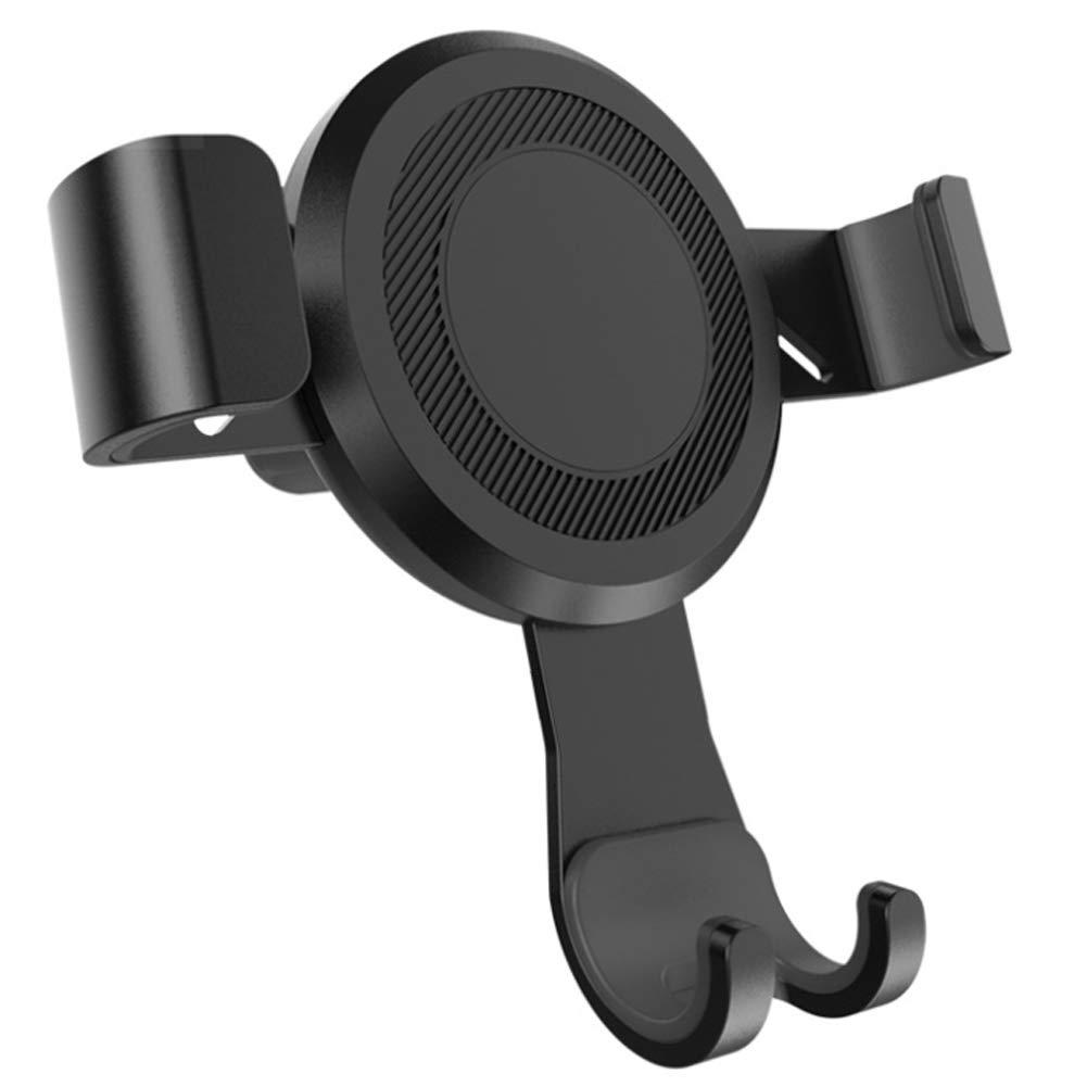 FFSH Metal car Navigation Outlet Bracket-Black