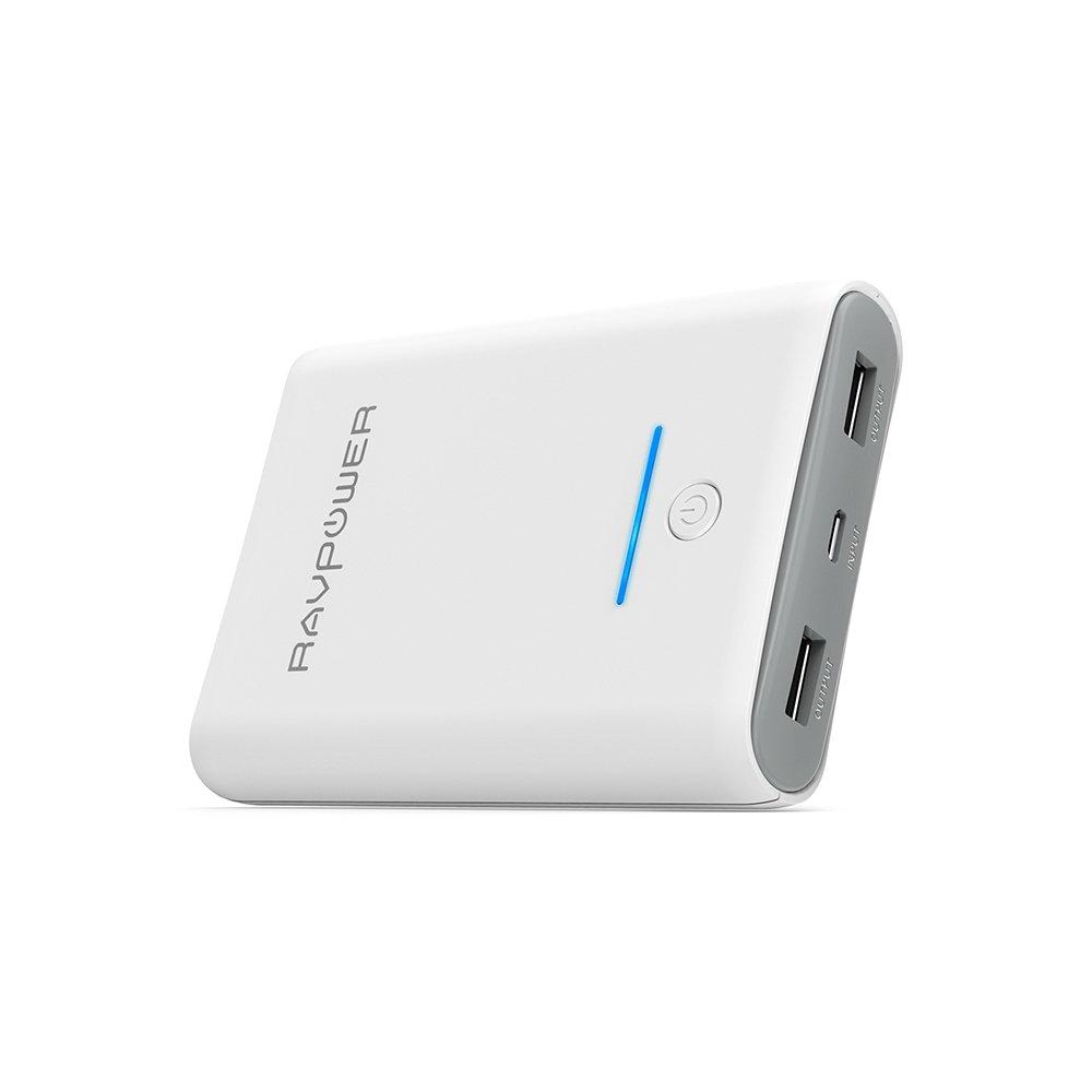 Bateria Externa mAh Cargador Portátil de RAVPower con Salida A Carga de