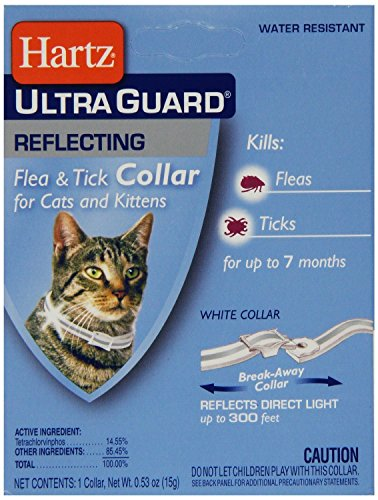516IgEyuM L - HARTZ 02899 Advanced Guard Reflecting Water Resistant Flea & Tick Collar For Cats