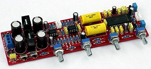 Car & Vehicle Electronics H HILABEE AC 12V 1A 6J1 Valve PreAmplifier