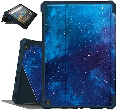 "Famavala Multi-Angles Case Cover Compatible with All-New 8"" Fire HD 8 / Plus (tenth Generation 2020 Release) Tablet (BlueSky)"