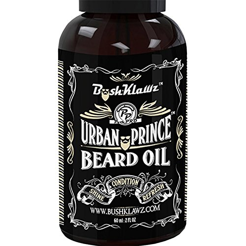 Urban Prince Beard Oil Conditioner Premium Beard Moisturizer Refreshing Scent 2 oz