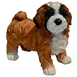 Cheap Michael Carr Designs 80090 Lhasa Apso Puppy Diva Statue, Small