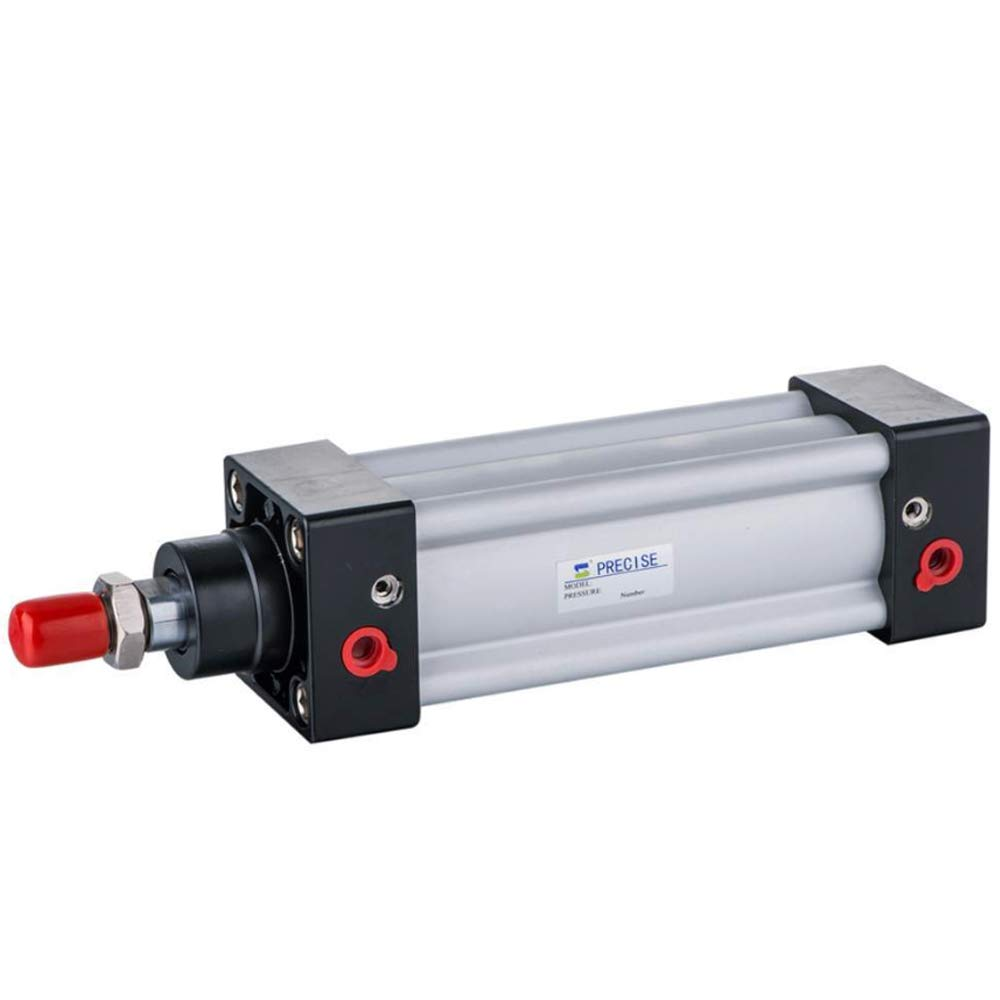 SI100X100-S 100mm Bore x 100mm Stroke 1/2'' NPT ISO15552 Double Acting Air Cylinder
