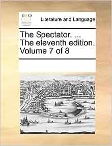 THE SPECTATOR VOLUME 8 (1808) Saint Francis Hospice (UPM)