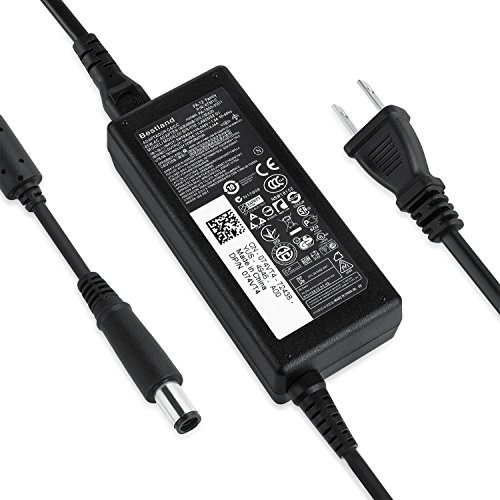 Bestland for Dell 65W 19.5V 3.34A AC Adapter Battery Power Charger PA-12 Latitude3330 3340 3440 3450 3540 Laptop Notebook Computer Power Cord Spare Replacement Adapter Big Plug 7.4mm x 5.0mm