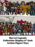 """Review: Marvel Legends Collection Display 6"""" Inch Action Figure Toys"""