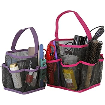 Unique Mesh Shower Tote Caddy Bag Bathroom Organizer Accessories Quick Dry On Decorating Ideas