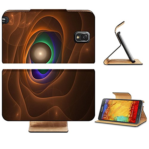 Samsung Galaxy Note 3 Flip Case Graphics texture Computer rendered background 3D fractal Abstract magic eye 4014205 by MSD Customized Premium Deluxe Pu Leather generation Accessories HD Wifi 16gb 32gb Luxury Protector Case