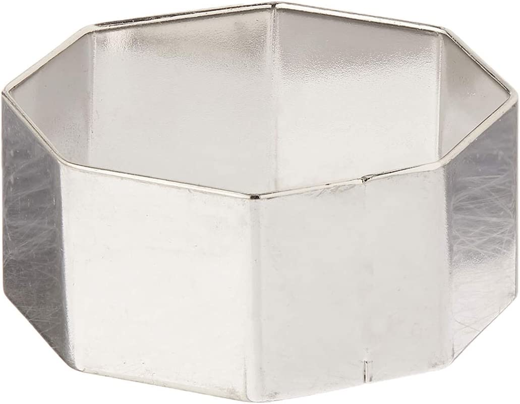 4 x .75 Inch Fat Daddios Stainless Steel Round Cake /& Pastry Ring