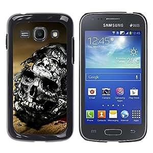 - Skull Devil Diablo - - Fashion Dream Catcher Design Hard Plastic Protective Case Cover FOR Samsung Galaxy Ace 3 Retro Candy