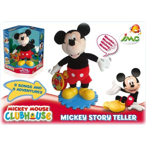 Imc 180048 Peluche Interactive Mickey Conteur D